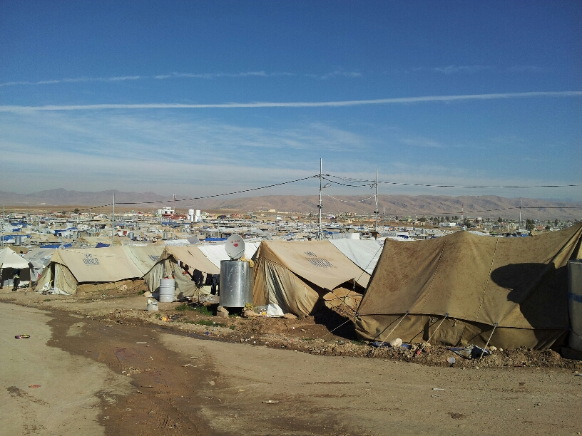 Dohuk - Syrian Kurdish refugees -camp 1 - 45000 Dec 2012